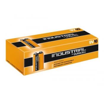 Duracell Industrial 9V Blok batterij 1,5V Alkaline 10 stuks