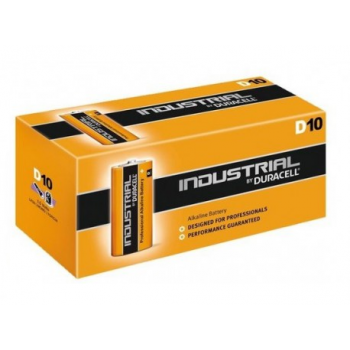 Duracell Industrial LR20 D 1,5V Alkaline 10 stuks