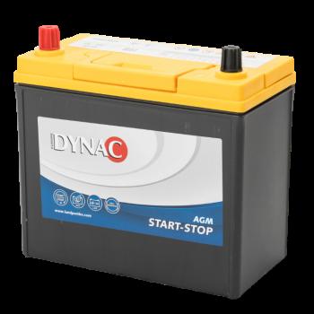 Dynac AGM Start-Stop Auto Accu 12 V 45Ah