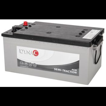 Dynac AGM Semi Tractie accu ST220 12V 220Ah