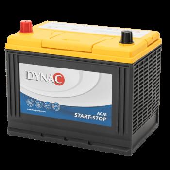 Dynac AGM Start-Stop Auto Accu 12 V 75Ah