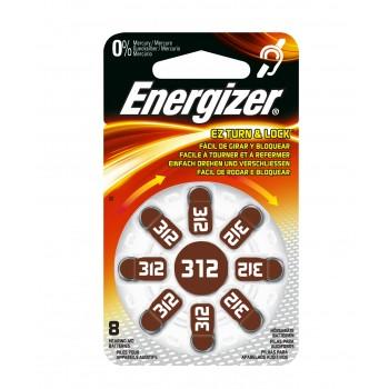 Energizer AC 312 hoortoestel batterijen