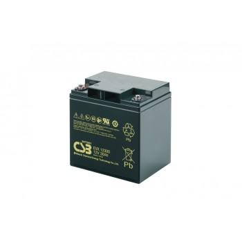 Deep cycle AGM loodaccu 12V 30Ah EVX12300 van CSB Battery