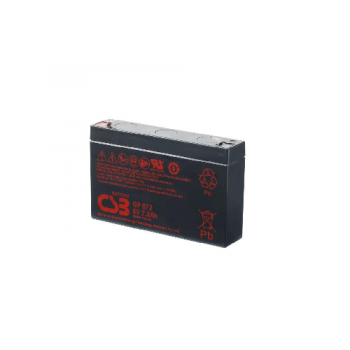 GP672 van CSB Battery AGM loodaccu 6V 8,4Ah