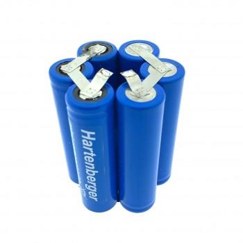 Duiklamp accu Li-ion Hartenberger mini compact electronic