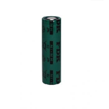 NiMH AA batterij HRAAU 1,2V - 1650mAh van FDK ( met soldeerlippen )