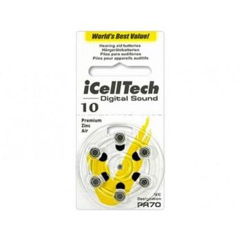 I Cell Tech Digital Sound  10 Hoortoestel batterijen