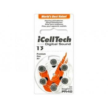 I Cell Tech Digital Sound  13 hoortoestel batterijen