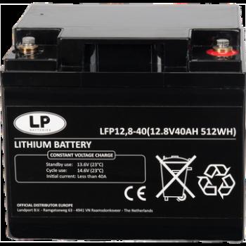 LiFePO4 accu LFP V12-40 12,8V 40Ah