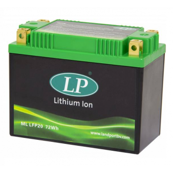 Lithium motor accu ML LFP20 12V 72Wh LifePO4 Landport