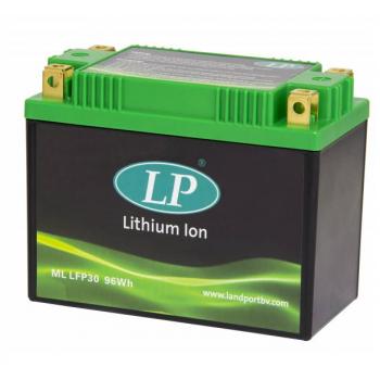 Lithium motor accu LFP30 12V 96Wh LifePO4 Landport