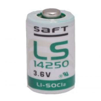 Saft Lithium batterij LS14250 1/2 AA (3,6V 1200mAh)