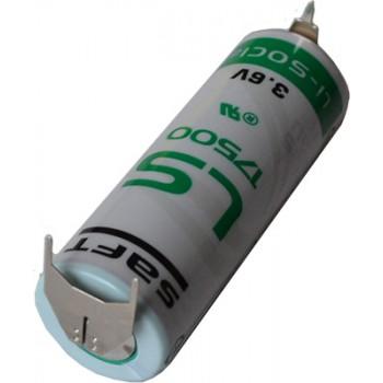 Saft Lithium batterij LS175003PF A (3,6V 3600mAh)