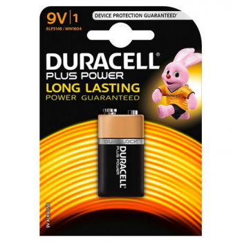 MN1604 Duracell Plus Power 9V BL1