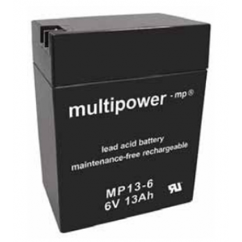 Multipower MP13-6 Loodaccu (6V 13000mAh)