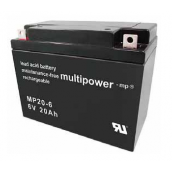 Multipower  MP20-6 Loodaccu (6V 20000mAh)