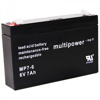Multipower MP7-6 Loodaccu (6V 7000mAh)
