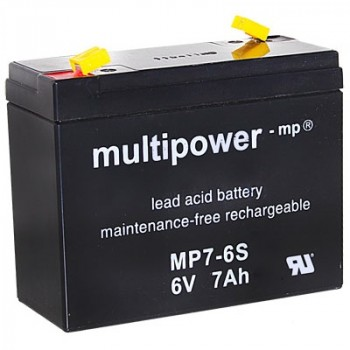 Multipower MP7-6S Loodaccu (6V 7000mAh)