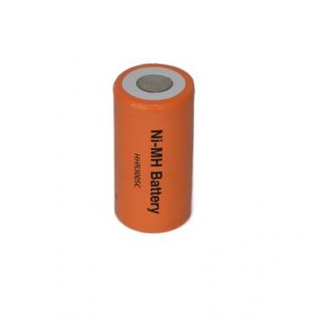 NiMH Cs batterij 1.2V 3000mAh Panasonic ( met soldeerlippen )