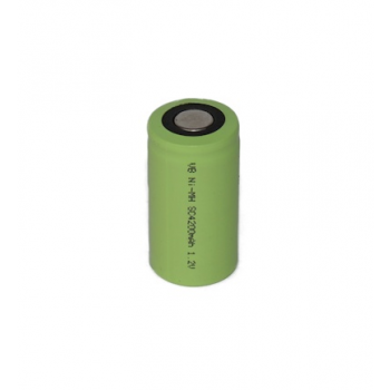 NiMH Cs batterij 1.2V 4200mAh Panasonic ( met soldeerlippen )