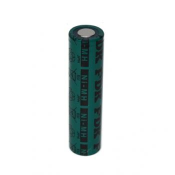 NiMH batterij 4/3AU 1,2V - 4000mAh van FDK ( met soldeerlippen )