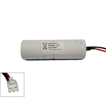 Arts Energy (Saft) NiCd 2,4V 4000mAh 2xD VNT staaf met S04 aansluiting