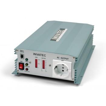 Invatec PM-1200 Omvormer 1200W 12V
