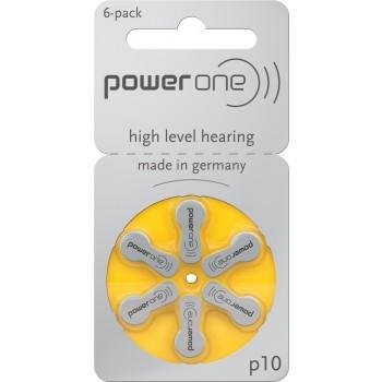 Power one P10 hoortoestel batterijen