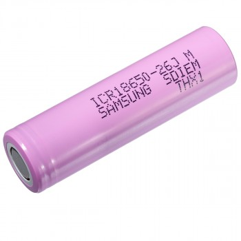 Samsung ICR18650-26JM Li-Ion 3,7V 2600mAh oplaadbare 18650 batterij