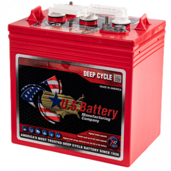 U.S. Battery Deep Cycle Accu 6V 232Ah US 2200