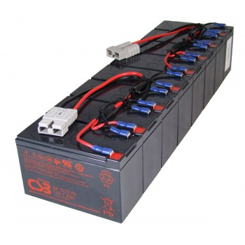 RBC12 UPS noodstroom accu vervangingsset van CSB Battery