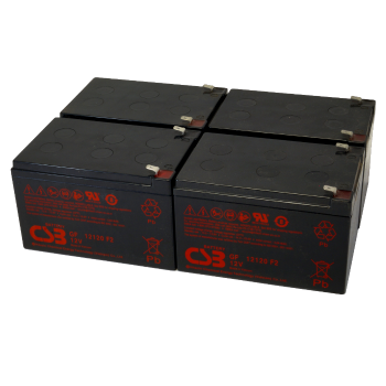 UPS noodstroom accu 4 x GP12120F2 van CSB Battery