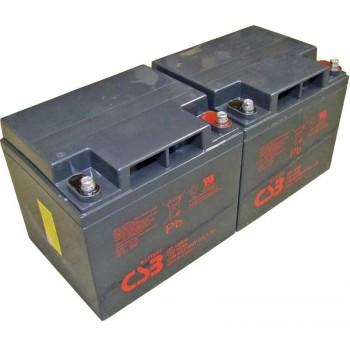 UPS noodstroom accu 2 x GP12400I van CSB Battery