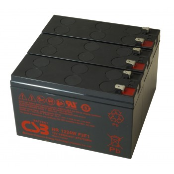 UPS vervangings batterij 3 x HR1224WF2F1 CSB Battery