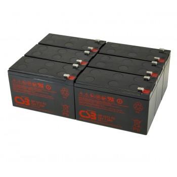 UPS vervangings batterij 6 x GP1272F2 CSB Battery