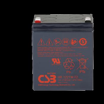 UPS noodstroom accu 4 x HR1221WF2 van CSB Battery