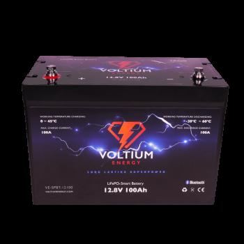 Voltium Energy® LiFePO4 accu 12,8V 100Ah met APP