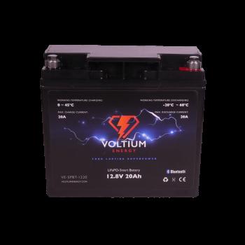 Voltium Energy® LiFePO4 accu 12,8V 20Ah met APP