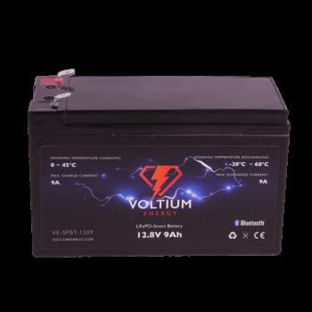 Voltium Energy® LiFePO4 accu 12,8V 9Ah met APP