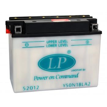 Y50-N18L-A2 motor accu met zuurpakket