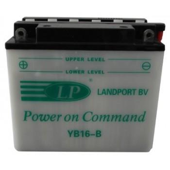 YB16B motor accu met zuurpakket