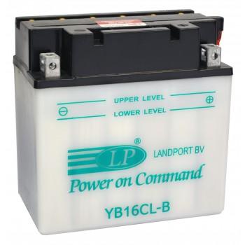 YB16CL-B motor accu met zuurpakket