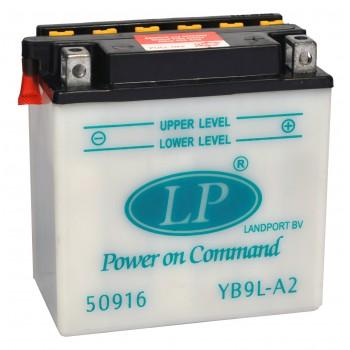 YB9L-A2 motor accu met zuurpakket