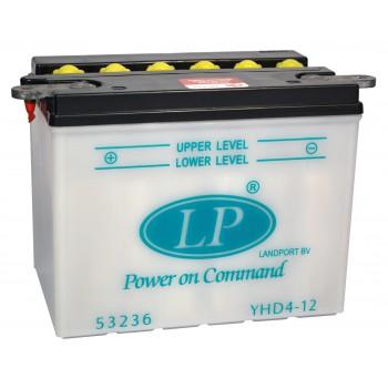 YHD4-12 motor accu zonder zuurpakket