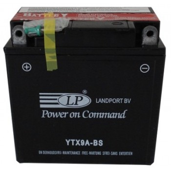 YTX9A-BS motor accu met zuurpakket