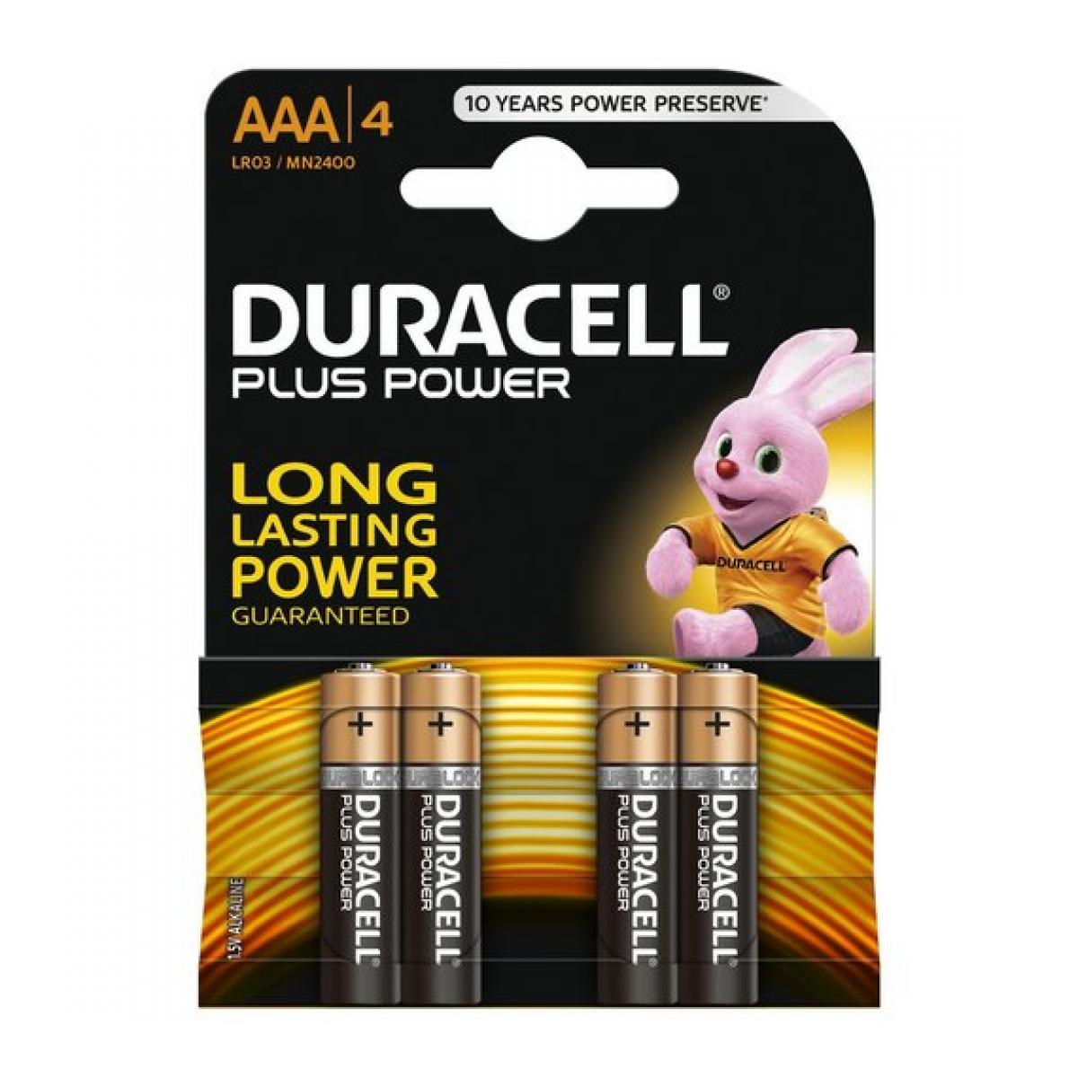 MN2400 Plus alkaline AAA-batterijen BL4