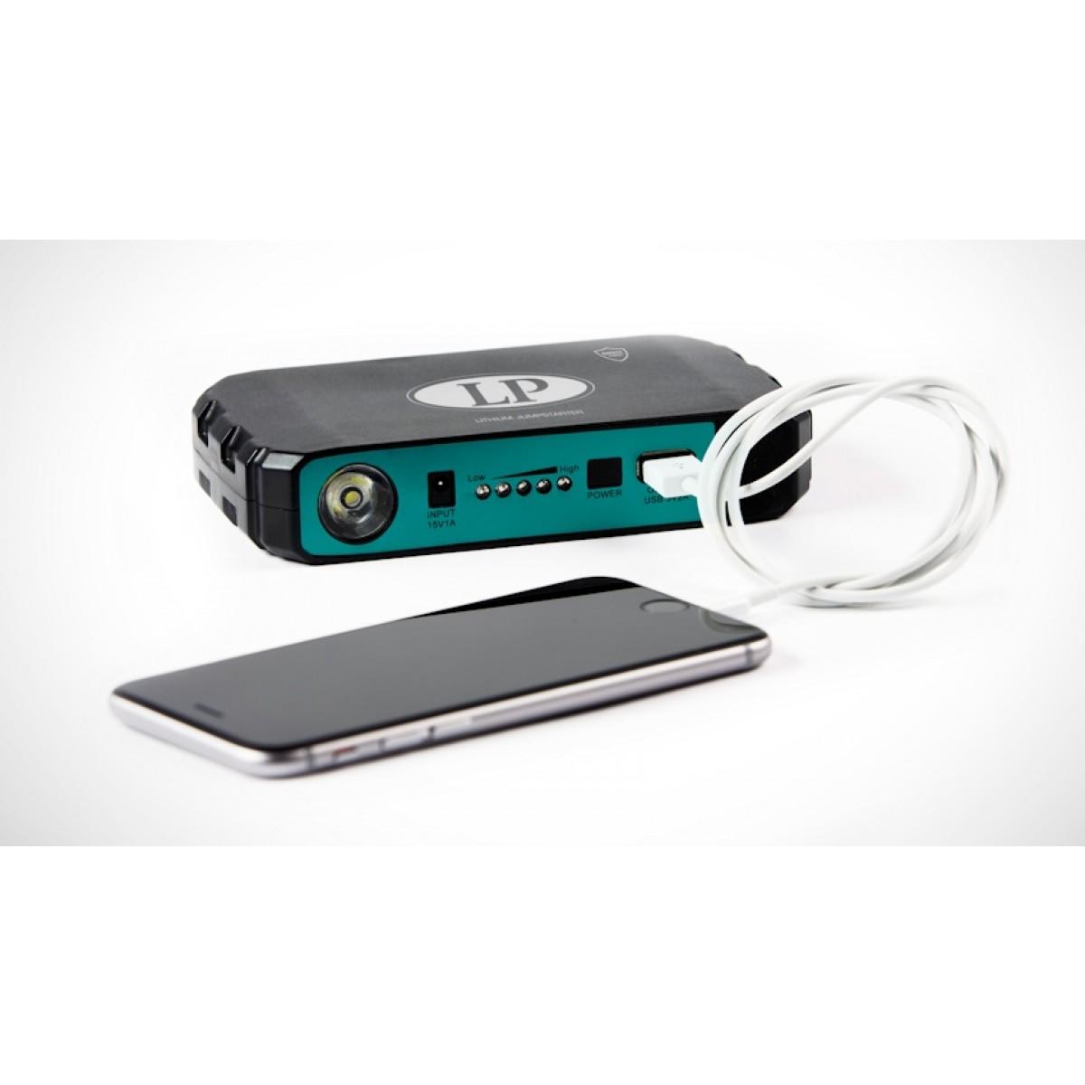 lithium jump starter 12v pl b100 voor het starten van uw. Black Bedroom Furniture Sets. Home Design Ideas