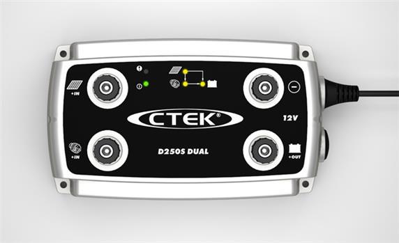 CTEK Acculader D250S DUAL (12V - 20A)