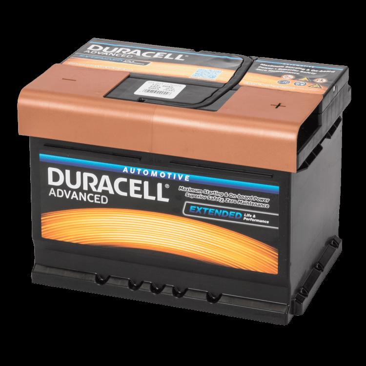 Auto accu Duracell Advanced BDA 60T 12V 60Ah