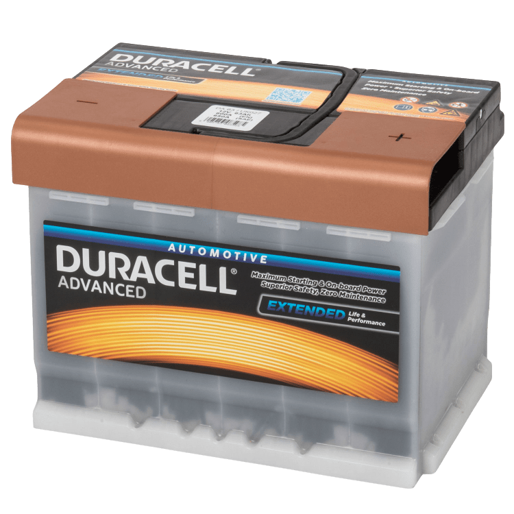 Auto accu Duracell Advanced BDA 63H 12V 63Ah